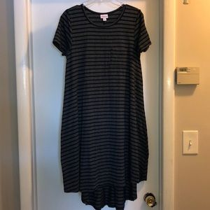 Grey and black striped Carly Size XS